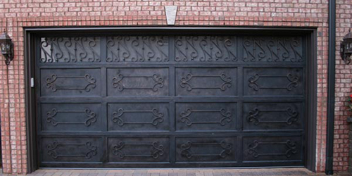 Гаражные кованые ворота, их виды